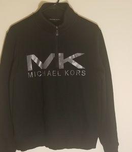 Men's Michael Kors 1/4 Zip Sweatshirt - Medium